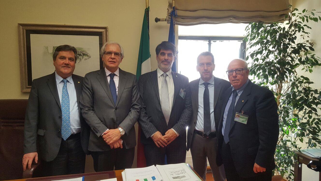L'Onorevole Federico GELLI incontra la CAO Nazionale della FNOMCeO