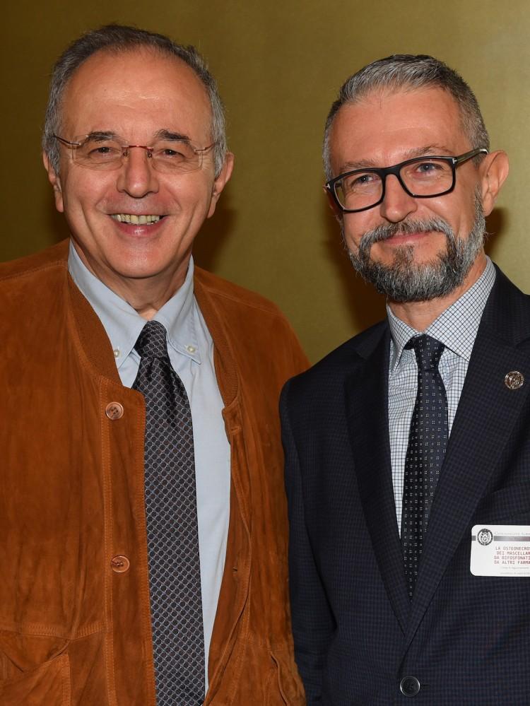 Dott.Pietro Ragni e il Dott. Fulvio Curti