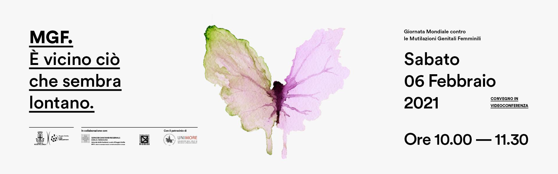 Giornata Mondiale contro le Mutilazioni Genitali Femminili – SABATO 6 FEBBRAIO 2021